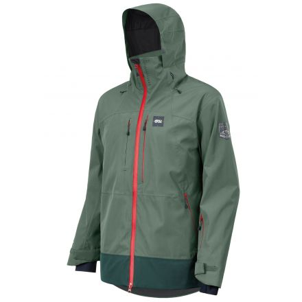 Picture Track Jacket Lychen Green