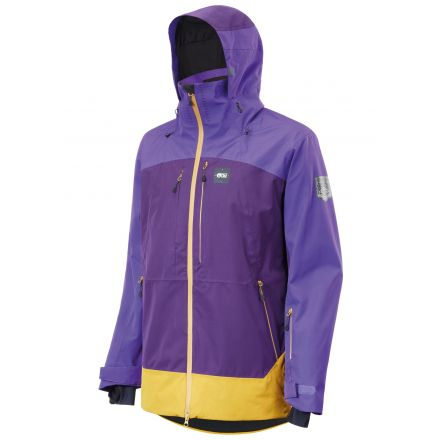 Picture Track Jacket Dark Purple