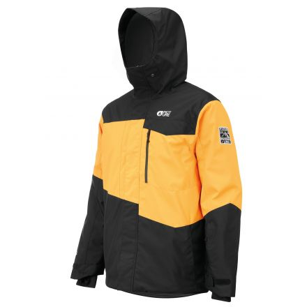 Picture Styler Jacket Yellow Black