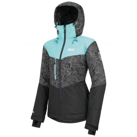 Picture Weekend Jacket Turquoise Black