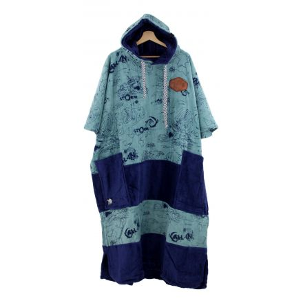 Poncho All In Big Foot Storm Grey