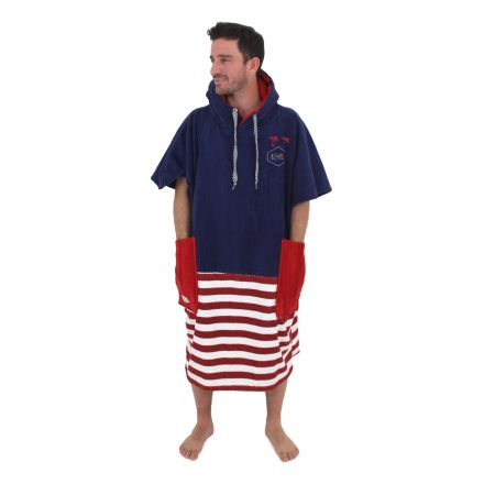 Poncho All In V Country Line Uncle Sam