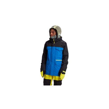 Burton Covert Jacket Slim True Black Lapis Blue