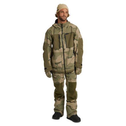 Burton Frostner Jacket Barren Camo Keef