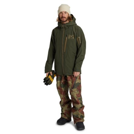 Burton AK Gore Tex Jacket Forest Night