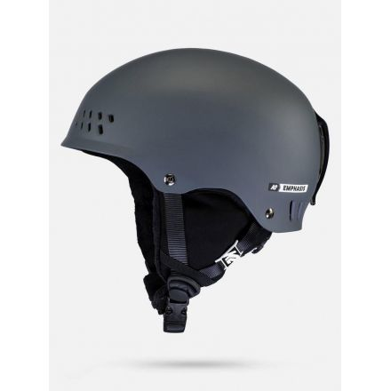 K2 Casque Emphasis Matte Pearl Charcoal