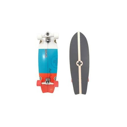 SurfSkate Manual Red Blue 31