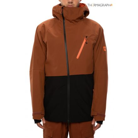 686 Hydra Thermagraph Jacket Clay Colorblock