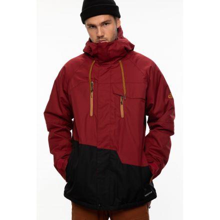 686 Geo Insulated Jacket Oxblood Colorblock