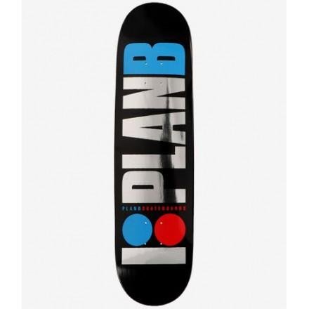skateboard Plan B deck Team og foil   8'375 X 32'125