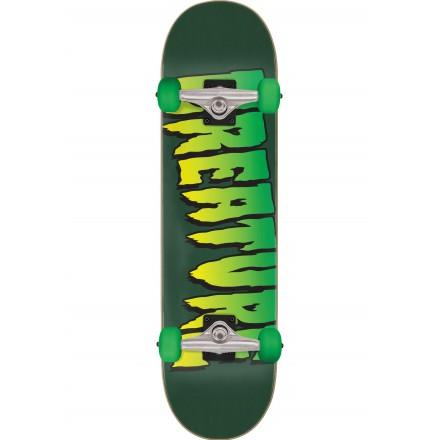 skateboard creature complete logo full 8'0