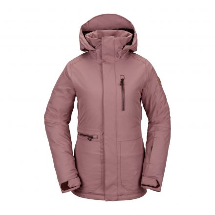 Volcom Shelter 3D Stretch Jacket Rose Wood