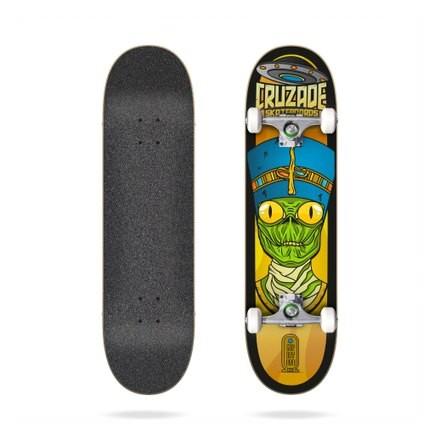 "skateboard cruzade conspiracy nefertiti 8""  complete"