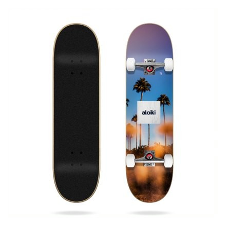 skateboard Aloiki sunset 7'75 complete