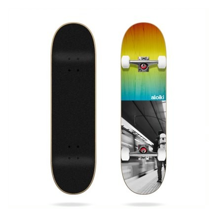skateboard Aloiki metro 7'8 complete