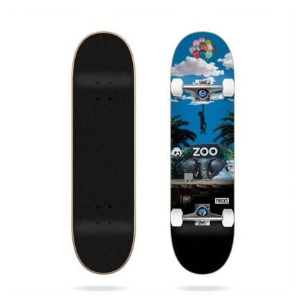 skateboard trick zoo 7'37 complete