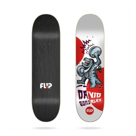 skateboard Flip deck  Gonzalez Tin Toy  8'0