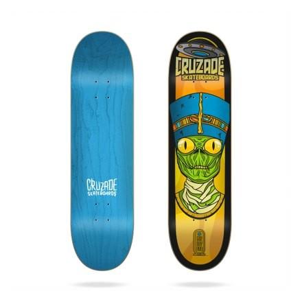 "skateboard cruzade Deck conspiracy nefertiti 8"""