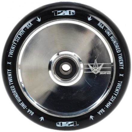 roue blunt 120mm hollow polished