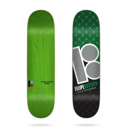 skateboard plan b deck Felipe corner