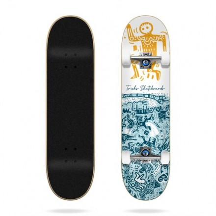 "skateboard Tricks Tribal 7""75  complete"