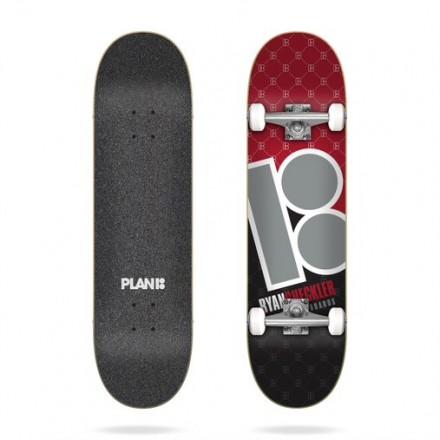 """skateboard Plan b sheckler corner 8""""0  complete"""