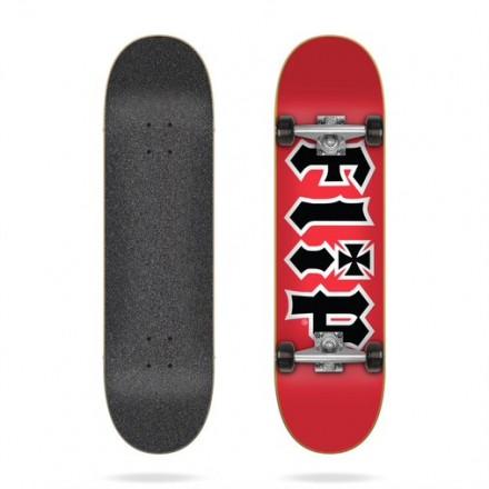 skateboard Flip hdk red 8,25 complete