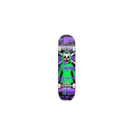 skateboard girl clown pirate 8'125 complete