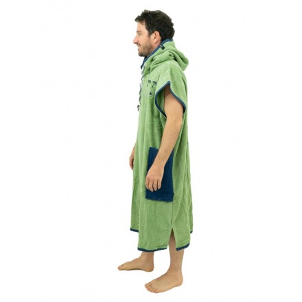 poncho all in bumpy vert adulte