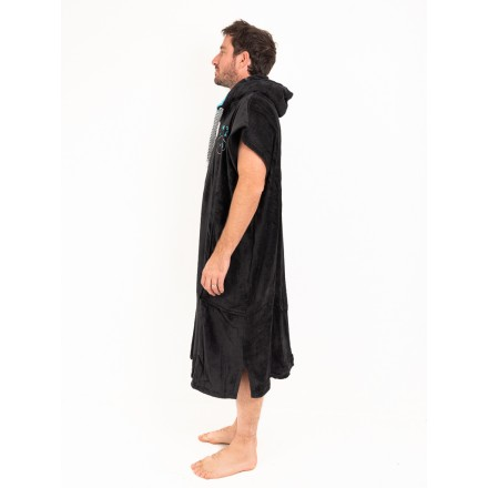 poncho all in flash black classic adulte