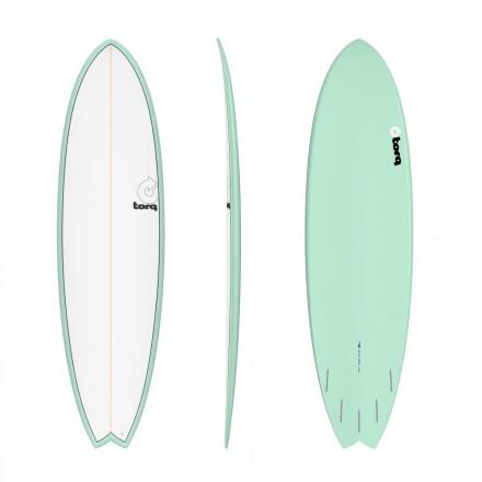 surf Torq Modfish  6'10 Pinline color