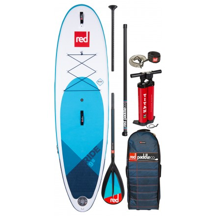 SUP GONFLABLE PACKRED PADDLE RIDE FUSION 9'8