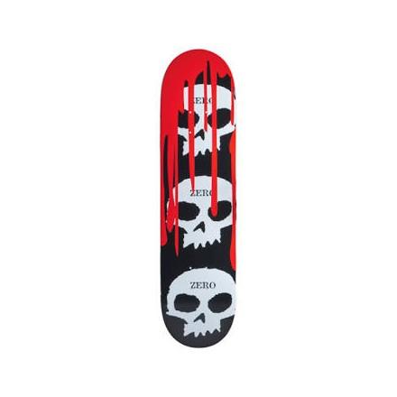 skateboard deck zero skull blood 8'5