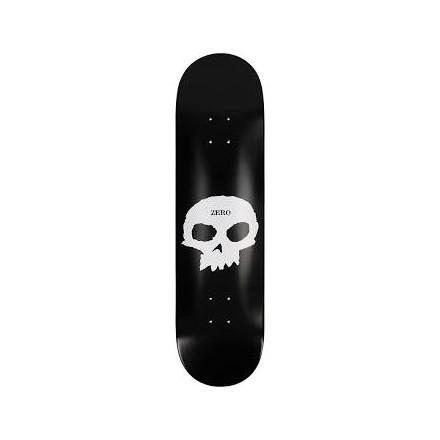 skateboard deck zero single skull 8'375