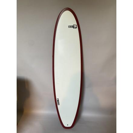 surf modii red 7'6  evolutive 2021 pack ( leash, housse et ailerons )